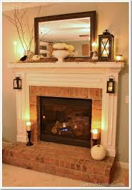 fireplace decorating ideas i want that frame with a wreath that i have made in it for