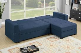 Sectional Sofa Beds by Blue Fabric Sectional Sofa Bed Steal A Sofa Furniture Outlet Los