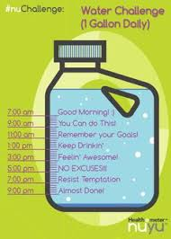 Challenge Water Filled Water Jug How To Track Your Daily Water Intake Today Is The