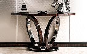 Designer Console Tables High End Designer Console Tables Sculptural Llorente