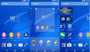 apk laucher xperia z3 launcher apk and install on any android phone