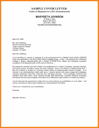 example employment cover letter simple cover letter design that