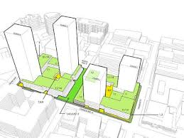 Mixed Use Building Floor Plans by Mapping Every Major Upcoming Denny Triangle Slu Project