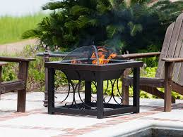 Patio Table With Firepit 28 Gungnir World Bronze Finish Outdoor Table Pit