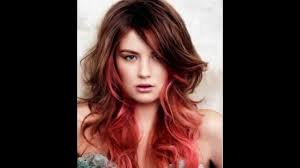 Dark Hair Colors And Styles Two Color Hairstyles For Long Hair Choice Image Hair Color Ideas