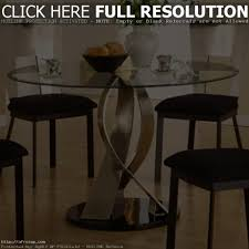 Glass Round Dining Table For 6 Chair Round Dining Table For 6 Glass And Chairs Great Cream Glass