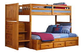 Stair Bunk Beds Discovery World Furniture Honey Staircase Bunk Bed