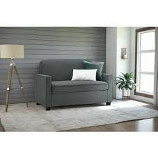 dhp signature sleep devon grey linen twin sleeper sofa free