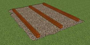 Plans To Build A Wooden Storage Shed by A Storage Shed Foundation That Is Easy To Build