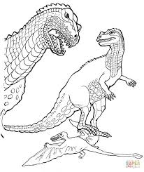 baryonyx dinosaur coloring page free printable coloring pages