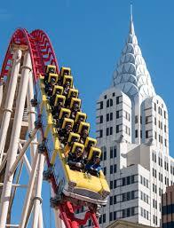 Six Flags Hotel Las Vegas New York New York Hotel Debuts Big Apple Coaster Virtual