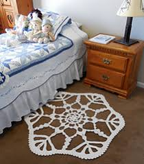 Giant Rug Ravelry Snowflake Area Rug Pattern By Kathryn A Clark
