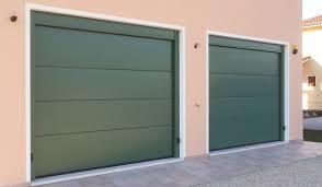 porta sezionale preventivo doppio portone sezionale su garage a sernaglia della