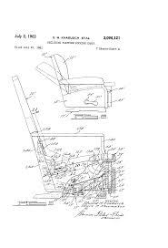 La Z Boy Recliner 2 by Patent Us3096121 Reclining Platform Rocking Chair Google Patents