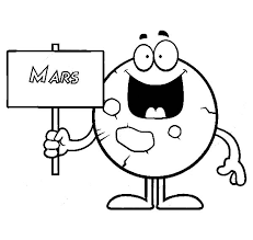 searching sign planet mars coloring pages color luna