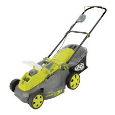 amazon com sun joe ion16lm 40 v 16 inch cordless lawn mower with