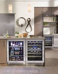 lake tahoe kitchen with true residential 24 beverage center dual