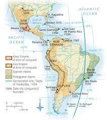 Aztec Empire Map Mapas