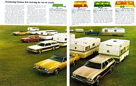 1973 Pinto Station Wagon Brochure Outtake Pulling A Trailer With Your 1973 Ford