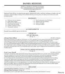 format for resumes officer resume template resumes format