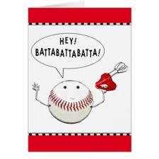 baseball birthday greeting cards zazzle