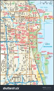 Chicago Suburbs Map Map Of Downtown Chicago You Can See A Map Of Many Places On The