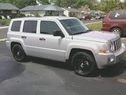 silver jeep patriot black rims jeep patriot price modifications pictures moibibiki