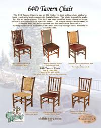 Hickory Dining Room Chairs Rustic Furniture Hickory Furniture Mirrors Mirror Frames