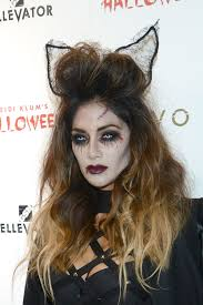 nicole scherzinger at heidi klum halloween party celebzz celebzz