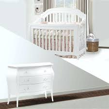 Convertible Crib Nursery Sets Futon White Crib And Dresser Sets 2 Nursery Set In