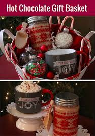 hot chocolate gift hot cocoa gift basket with cocoa mix holidays
