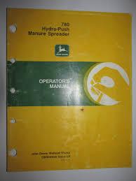 buy john deere 785 hydra push manure spreader oem operators manual