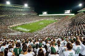 Msu Interactive Map Espn College Gameday Coming To Msu For Battle With Buckeyes
