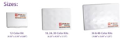 amazon com sakura xncw 24n 24 assorted watercolors field sketch