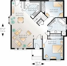 open layout house plans plan 21210dr small house plan with open floor plan european
