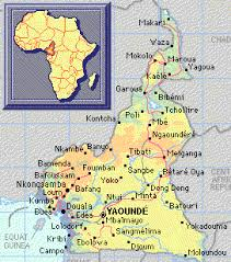 map of cameroon this is a map of cameroon s major cities 1 project