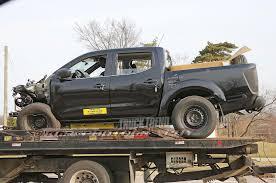 nissan frontier new model spied 2019 nissan frontier crash test mule