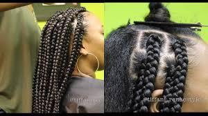 how to jumbo box braids video black hair information