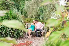 a personal engagement shoot at botanical gardens virginia