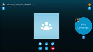 skype bureau windows 8 conference call