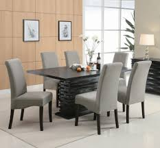 dining room wallpaper hd glass wood dining table black and white
