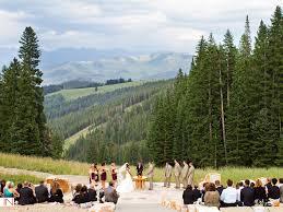 colorado mountain wedding venues colorado mountaintop weddings 11 venues we