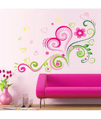 unique wall flower design on unique and fidela flower wall decal wall flower design on unique oren empower fashion design romantic flower wall sticker 20