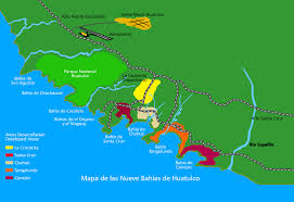 map of mexico resorts huatulco mexico area maps