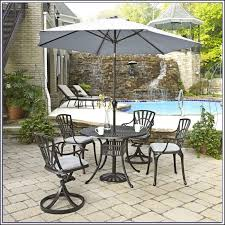 Patio Umbrella Table And Chairs Patio Umbrella Cover With Rod Patios Home Decorating Ideas