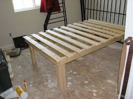 Plans For A Twin Platform Bed Frame by Cheap Easy Low Waste Platform Bed Plans 7 Steps With Pictures