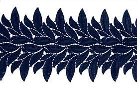 navy blue lace ribbon lace ribbon dsi london