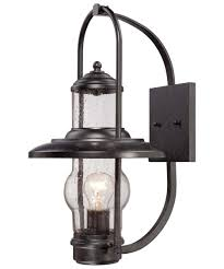 Kitchen Wall Lighting Fixtures by Minka Lavery 72162 Settlers Way 10 Inch Wide 1 Light Outdoor Wall