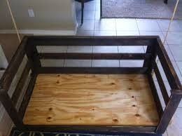 Crib Mattress Base Crib Mattress Porch Swing Sawdust 2 Stitches