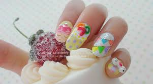 Baby Nail Art Design Sara Nail Happy Birthday Nail Art Baby Nail Colors
